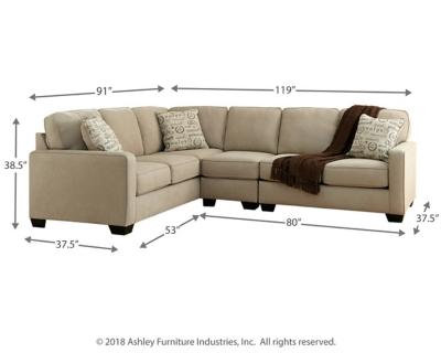 Alenya Armless Chair