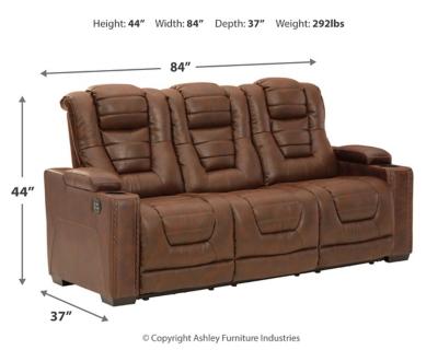 Owner's Box Power Reclining Sofa
