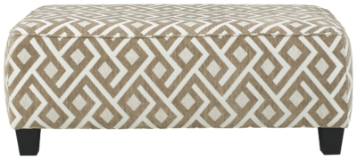 Dovemont Oversized Accent Ottoman