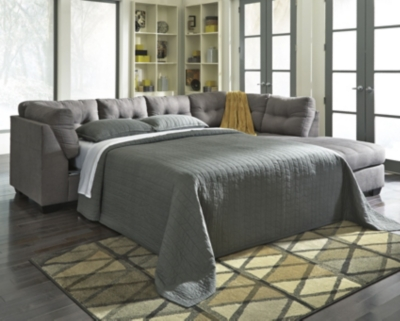 Malta 2-Piece Sleeper Sectional with Chaise