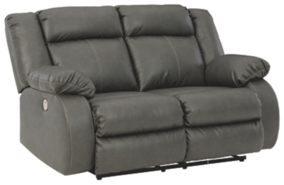 Family Den Left-Arm Facing Power Reclining Loveseat with Console