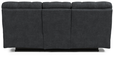 Wilhurst Reclining Sofa with Drop Down Table