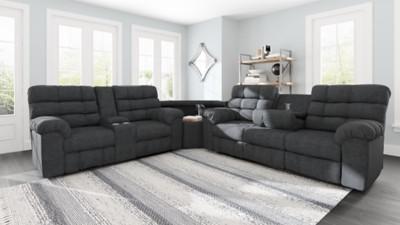 Wilhurst 3-Piece Reclining Sectional
