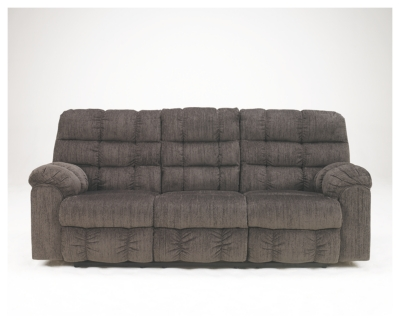 Ace Reclining Sofa with Drop Down Table