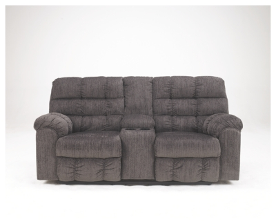 Ace Reclining Loveseat with Console