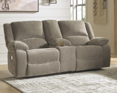 Draycoll Power Reclining Loveseat with Console