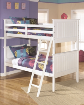 Lebec 3-Piece Twin over Twin Bunk Bed