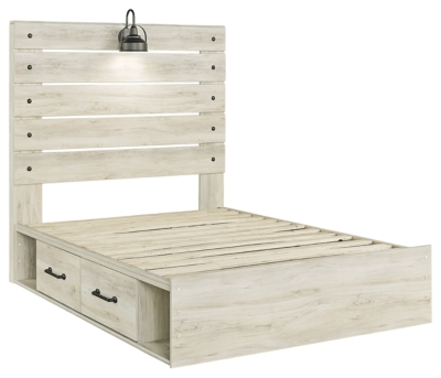 Cambeck Full Panel Bed with 4 Storage Drawers