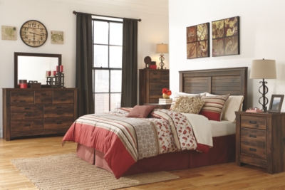 Quincy King Panel Headboard
