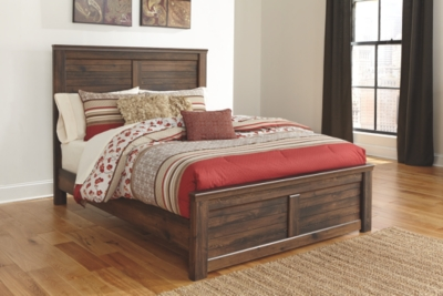 Quincy King Panel Bed