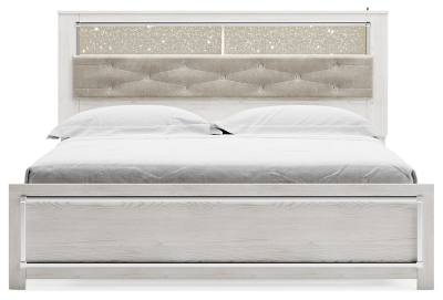 Altyra King Panel Bookcase Bed