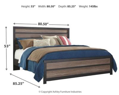 Harrison King Panel Bed