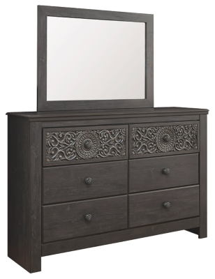 Pacheco Queen Panel Footboard with Rails