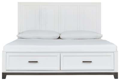 Brynburg Queen Panel Bed with 2 Storage Drawers