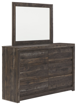 Vay Bay Dresser and Mirror