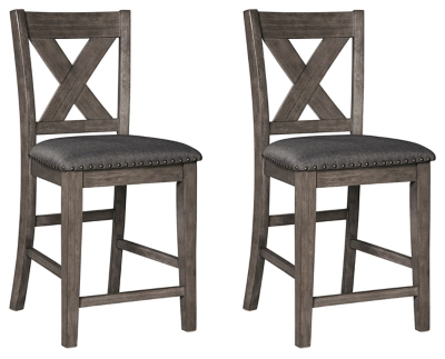 Caitbrook Dining Room Counter Height Bar Stool (Set of 3)