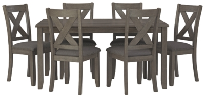 Clara Dining Table and Chairs (Set of 7)