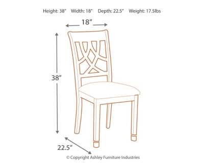 Leahlyn Single Dining Room Chair