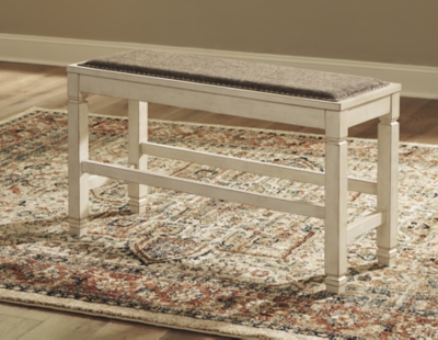 Beverly Counter Height Dining Room Bench