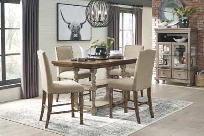 Lanare Counter Height Dining Room Extension Table