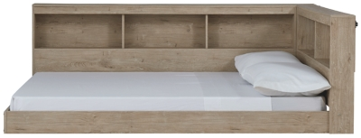Oliah Full Bookcase Storage Bed