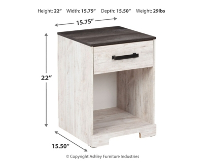 Shawburn Nightstand
