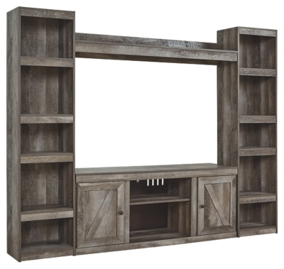 Winterhaven 4-Piece Entertainment Center