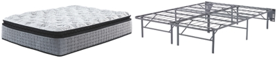 Mt Rogers Ltd Pillowtop Queen Adjustable Base with Mattress