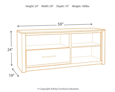 """Dover 59"""" TV Stand"""