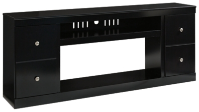 """Shay 75"""" TV Stand with Electric Fireplace"""