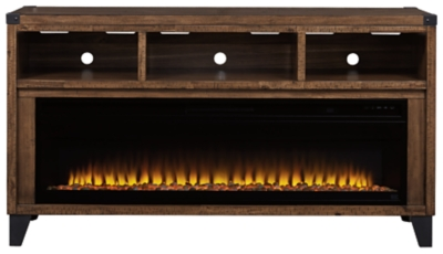 "Royard 65"" TV Stand with Electric Fireplace"